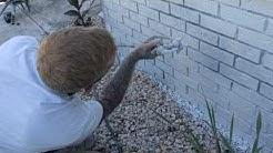 Mack Painters Myrtle Beach House Finish coat application- brick Exterior painting