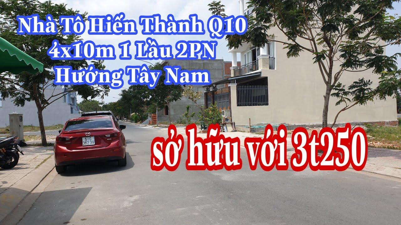 Bán Nhà siêu đẹp Quận 10 4×10 Tây Nam 2PN 6tỷ5 |LH 0906485209 zalo/viber Mr Huy
