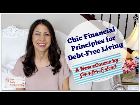 Chic Financial Principles for Debt-Free Living | My NEW eCourse