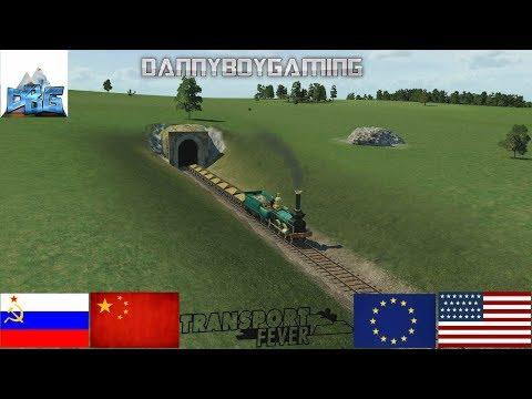 Transport Fever The Mods EP 4 The Soviet Grain Train