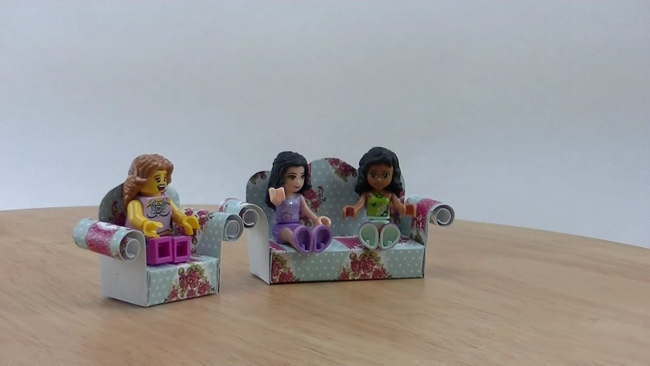 sofa from friends kensington reviews schnooky folge 5 lego video tut youtube
