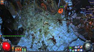 Path Of Exile End Boss Dominus High Templar lvl 79 Merciless
