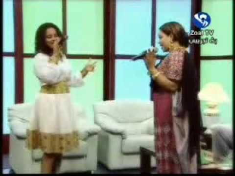 Nada & Haymanot Performing in Sudan TV (Elzool Shagana)