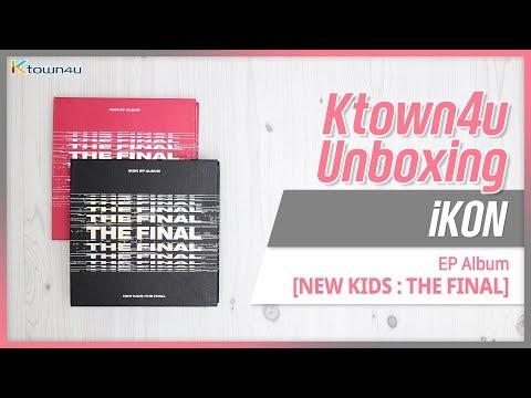 [Ktown4u Unboxing] iKON - EP Album [NEW KIDS: THE FINAL] 아이콘 뉴키즈 더파이널 언박싱