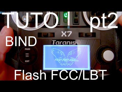 Tuto Taranis QX7 (PT2) : Bind et Flash FCC/LBT