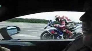 Lambo versus GSXR. See the story behind it at: http://www.visordown...