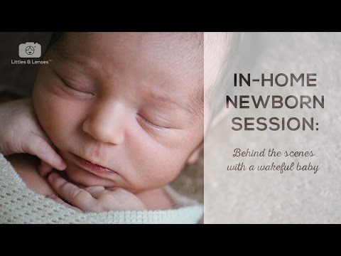 Newborn Photography Session: Behind the Scenes #1 - LITTLES & LENSES
