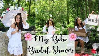 My Bohemian Bridal Shower    WanderBlush
