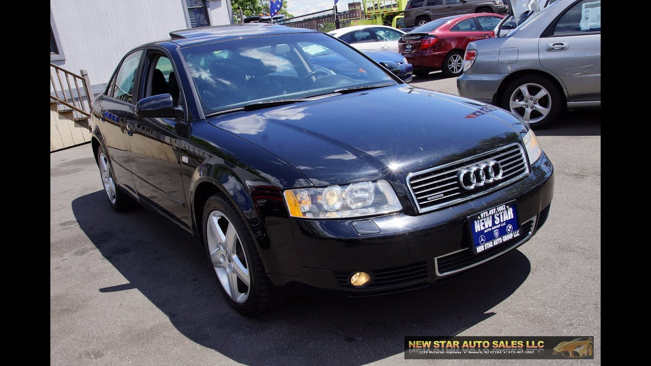 2005 audi a4 1 8t quattro sedan youtube. Black Bedroom Furniture Sets. Home Design Ideas