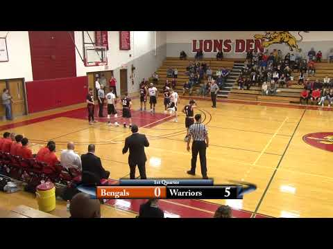 3.2.2017 - Boys Basketball Playoff - Diman vs. South Shore Christian Academy