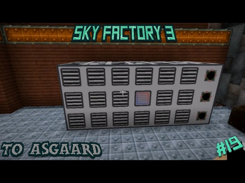 Sky Factory 3 Let's Play Ep 19: Steam Production