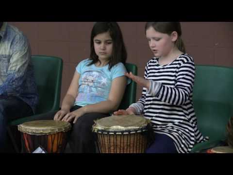 Drum answer,  Hall Fletcher Elementary School