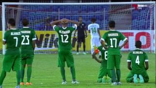 اهداف المباراة : السعودية (6 ) 2 - 2 (5) العراق كأس آسيا تحت 19