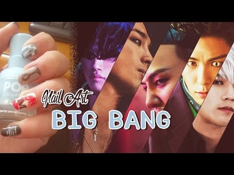 "✻ Nail Art ✻ ""LOSER"" Big Bang"