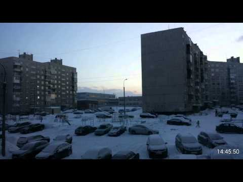 Murmansk polarnight day