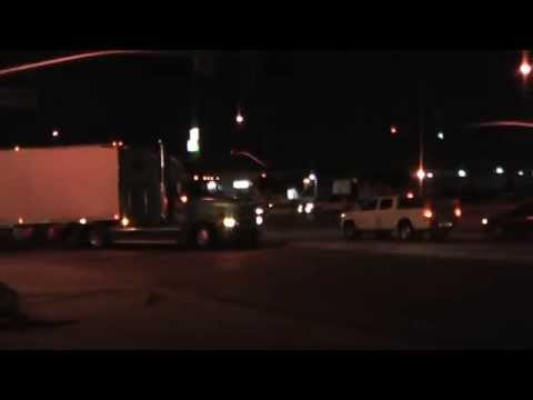 Trucks At Night - Pilot Truckstop - Salinas, California, USA - YouTube