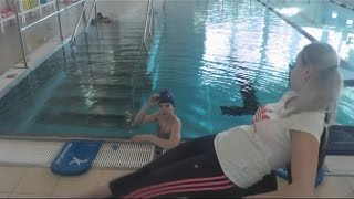 Как научиться плавать в хвосте русалки УРОК