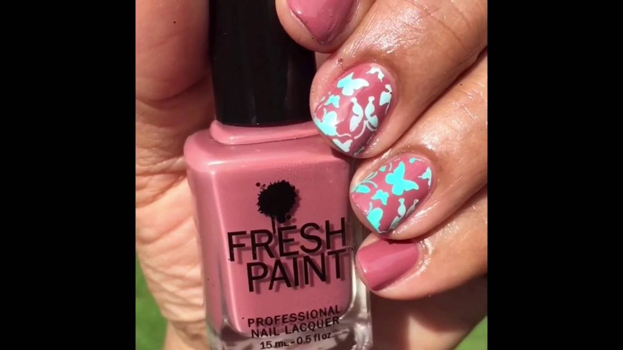 Nail of the Day featuring Fresh Paint EMMA - YouTube