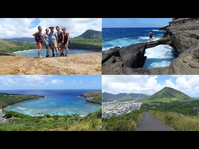 HANAUMA BAY RIDGE HIKE & HIDDEN ROCK BRIDGE -  HONOLULU - OAHU - HAWAII