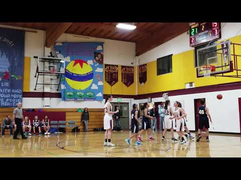 22Jan2019 Hood View Adventist School vs Damascus Christian School