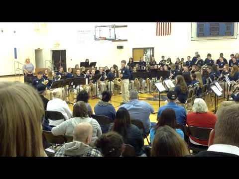 Streetsboro Middle School Jazz Band Spring Concert - Mas Que Nada