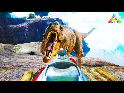 HikePlays ARK Survival - STRANDED & SURVIVAL at a NEW PLACE - DINO Hunter! EP.17 w/ Stream Team!
