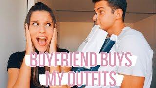 MY BOYFRIEND BUYS MY OUTFITS (Challenge) || CARLA DI PINTO