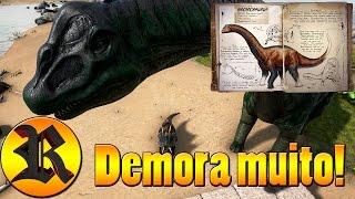 Tutorial: Domesticando Bronto o Brontossauro - Ark: Survival Evolved