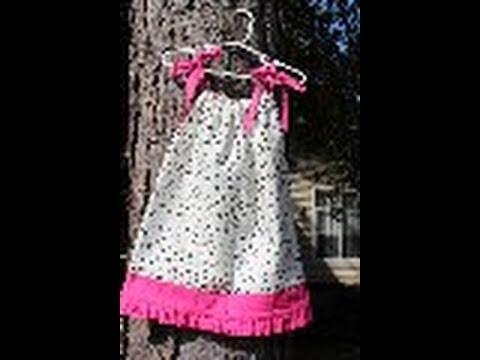 Ruffled Pillowcase Dress