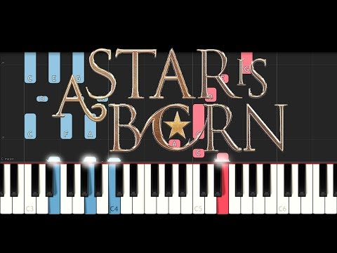 A Star Is Born - Always Remember Us This Way (Lady Gaga) (Piano Tutorial)