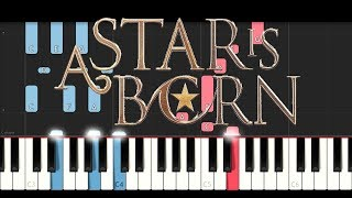 Baixar A Star Is Born - Always Remember Us This Way (Lady Gaga) (Piano Tutorial)