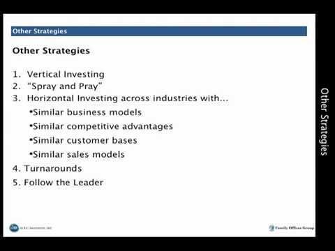 Angel Investing Strategies