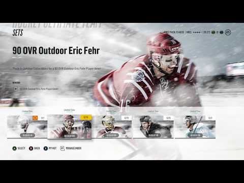 NHL 18 HUT Player Pack Opening NEW SET PLUS CS REWARDS!