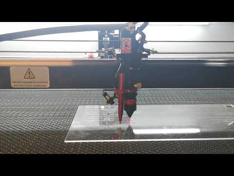 Acrylic Engraving Test