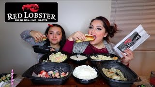 Red Lobster Mukbang HAPPY VALENTINES DAY | Posi Claudia