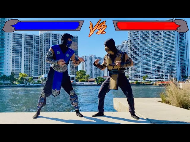 We Became Characters from Mortal Kombat