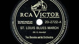 1948 HITS ARCHIVE: St. Louis Blues March - Tex Beneke