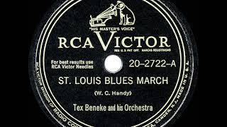 1948 HITS ARCHIVE: St. Louis Blues March - Tex Beneke