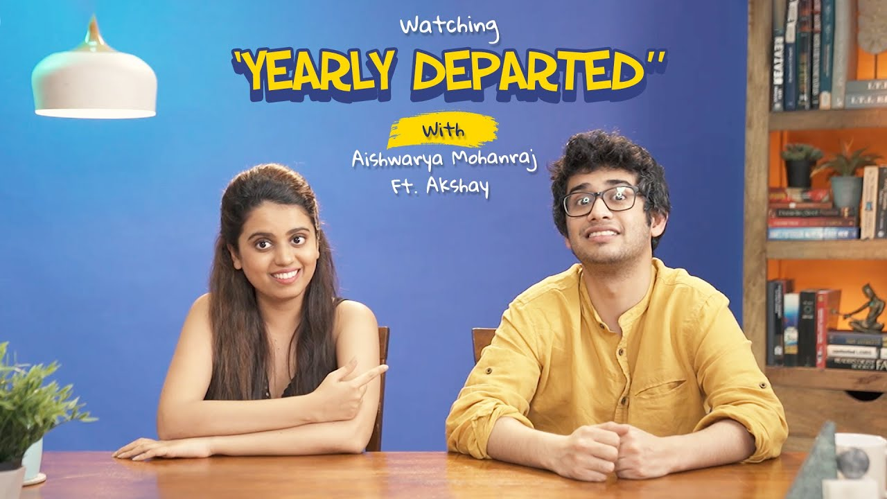 "ScoopWhoop: Watching ""Yearly Departed"" With Aishwarya Mohanraj Ft. Akshay"