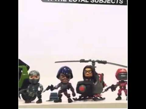 The Loyal Subjects G I Joe Action Vinyls Wave 2