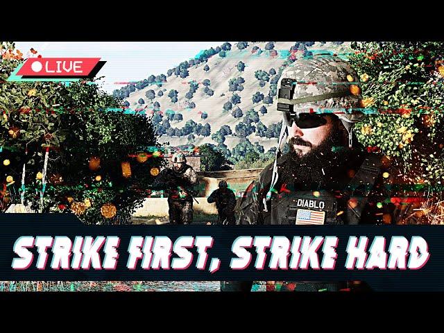 [ES] OPERACIÓN STRIKE FIRST, STRIKE HARD 2 - US ARMY - Arma 3 - Squad ALPHA