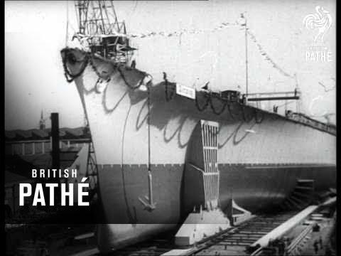 Launching Of 'tirpitz' (1939)