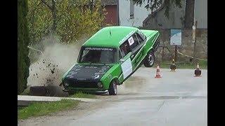 Rally CRASH best of 2018. Lepold Sportvideo...