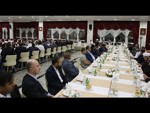 İDSB heyeti, Diyanet İşleri Başkanı Prof. Dr. Mehmet Görmez'i ziyaret etti.