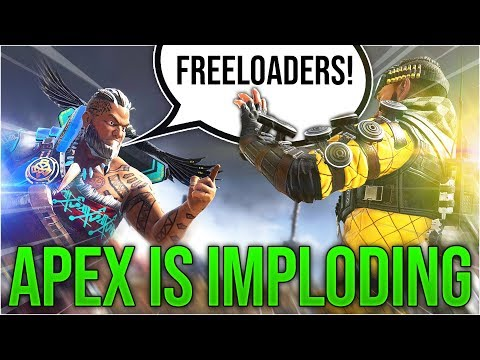 Apex Legends Is Imploding Because of Toxic Devs & Iron Crown Lootboxes
