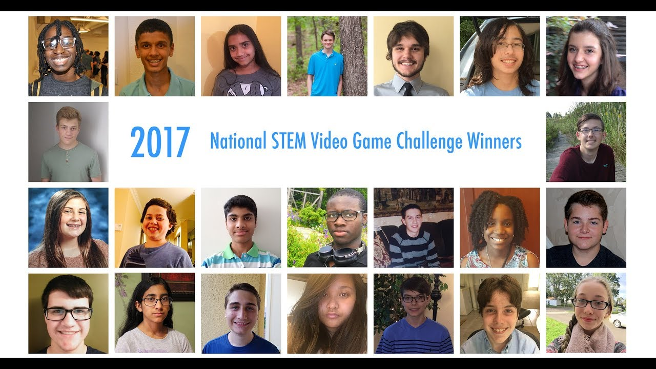 Meet the 2017 National STEM Video Game Challenge Winners