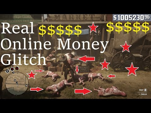 Red Dead Redemption 2 Online: *REAL MONEY GLITCH* Fast Money!! Unlimited Money Online! Huge Exploit thumbnail
