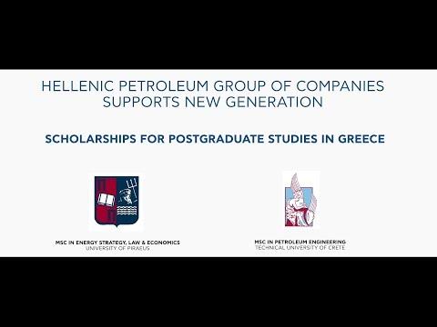 Hellenic Petroleum - Scholarships For Postgraduate Studies In Greece
