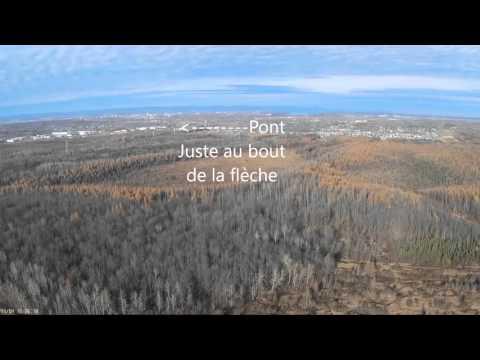 Vue du pont Pierre Laporte