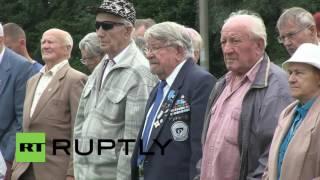 Video Estonia: Waffen-SS veterans mark the Battle of Tannenberg Line anniversary download MP3, 3GP, MP4, WEBM, AVI, FLV November 2018
